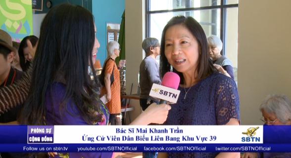 Chiến dịch tranh cử Dân Biểu Liên Bang khu vực 39 của bác sĩ Mai Khanh Trần