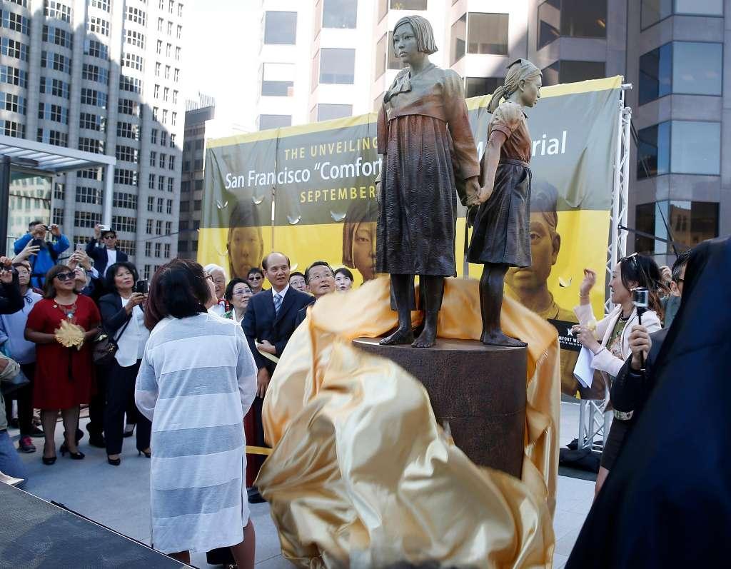 Osaka dọa cắt quan hệ kết nghĩa sau khi San Francisco trưng bày tượng phụ nữ giải khuây