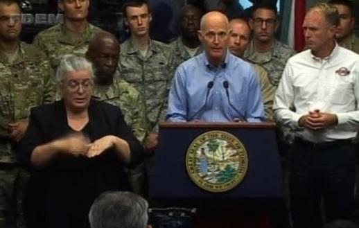 Tin liên quan đến bão Irma chuẩn bị đổ bộ vào Florida
