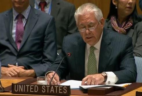 Ngoại trưởng Rex Tillerson: vũ khí nguyên tử sẽ không mang lại an ninh cho Bắc Hàn