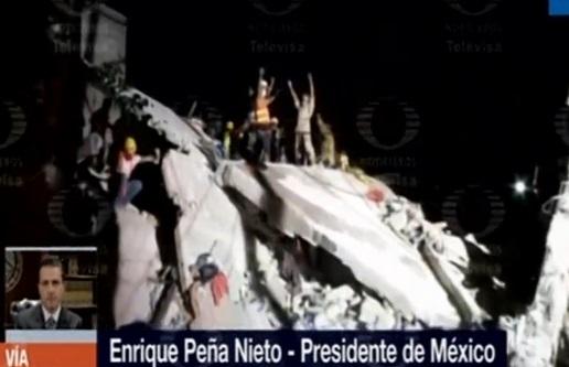 Trận động đất 7.1 độ richter tại Mexico làm 217 người thiệt mạng