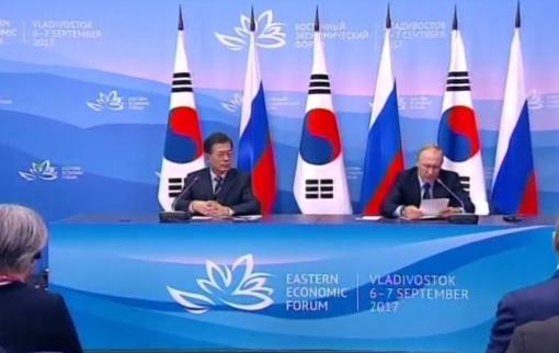 Putin lưỡng lự trước yêu cầu ngừng bán dầu cho Bắc Hàn