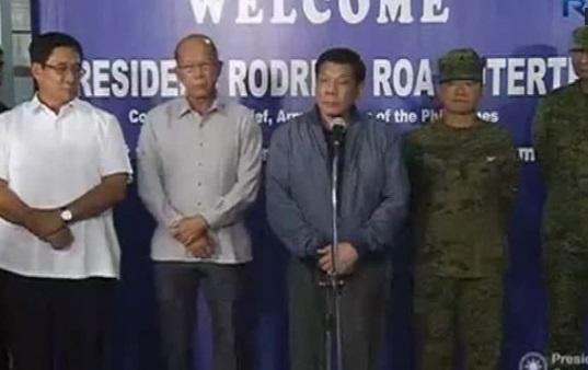 Tổng thống Duterte đổi giọng, ca ngợi đồng minh Hoa Kỳ