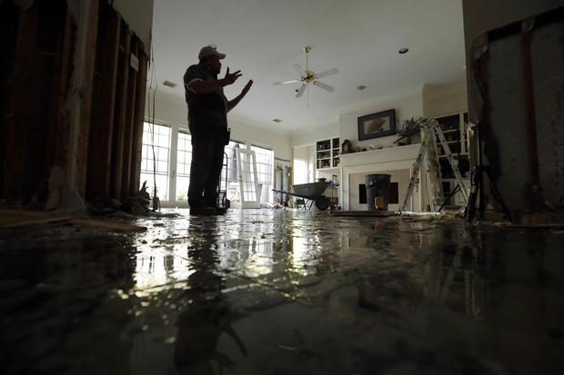 Nấm mốc là mối nguy cho sức khoẻ hậu bão Harvey
