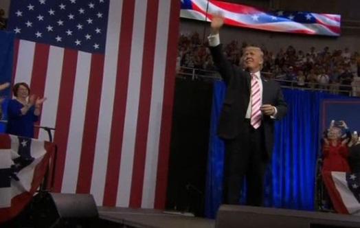 Tổng thống Trump có mặt ở Alabama để ủng hộ ứng cử viên Luther Strange