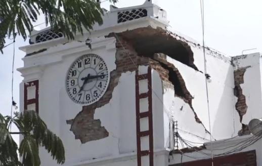 Số người chết vì động đất tại Oaxaca tăng