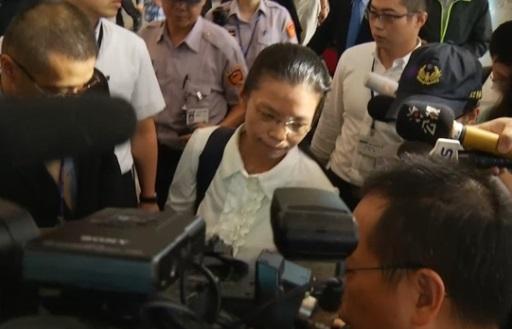 Vợ của nhà dân chủ Đài Loan sang Trung Cộng dự phiên toà xử chồng