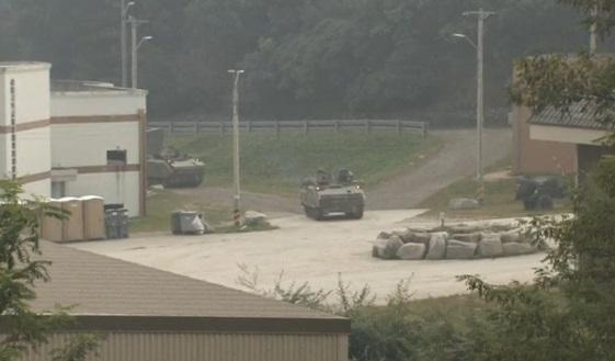 Quân đội Hoa Kỳ và Nam Hàn diễn tập tái chiếm một ngôi làng gần biên giới Bắc Hàn