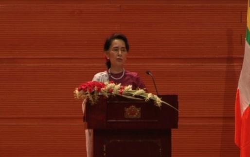 Bà Aung Suu Kyi lên án vi phạm nhân quyền tại Myanmar, hứa hẹn xét xử người có tội