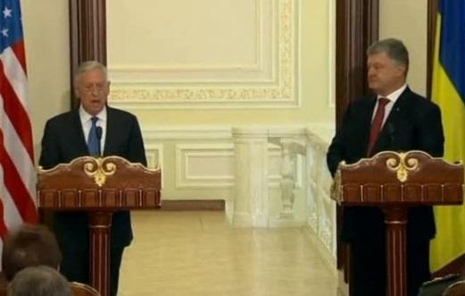 Bộ trưởng Quốc Phòng James Mattis: Moscow muốn vẽ lại biên giới với Ukraine
