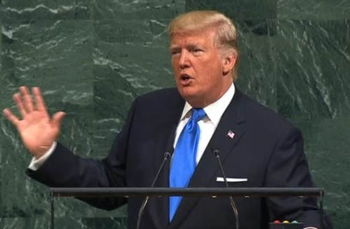 Tổng thống Trump tại Liên Hiệp Quốc: nếu bị đe dọa, Hoa Kỳ sẽ hủy diệt Bắc Hàn