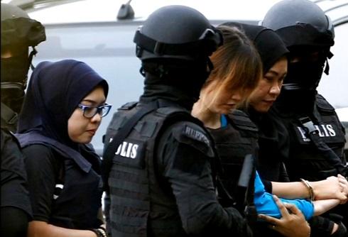 Hai nữ bị cáo trong vụ ám sát ông Kim Jong Nam sắp ra tòa trở lại