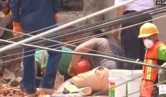 Số người chết trong trận động đất tại Mexico lên tới 245