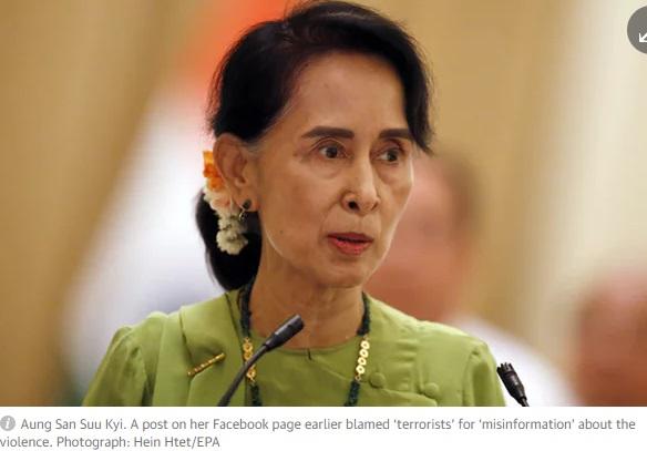 Quan điểm của bà Aung San Suu Kyi về vấn đề người Rohingya ở Myanmar
