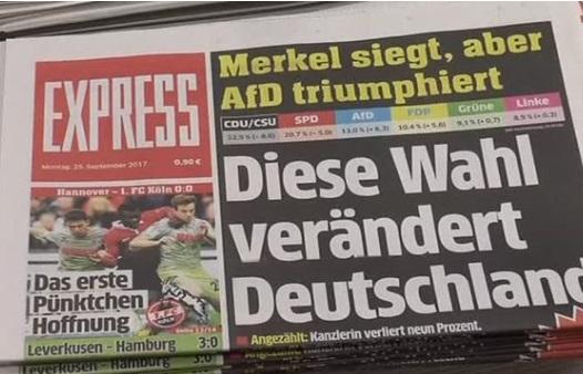 Đảng chống di dân AfD lần đầu tiên đặt chân vào quốc hội làm dư luận Đức quan tâm