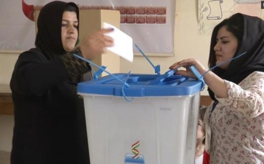 Người Kurd bỏ phiếu trưng cầu dân ý đòi độc lập