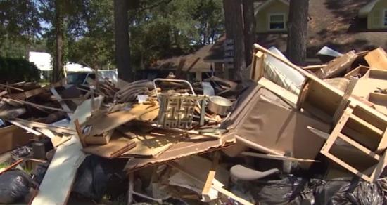 Texas chật vật tìm nhà cho người mất nhà ở vì bão Harvey