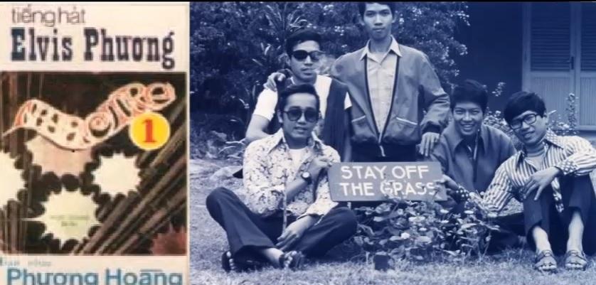 Ca sĩ Elvis Phương và ban nhạc Phượng Hoàng