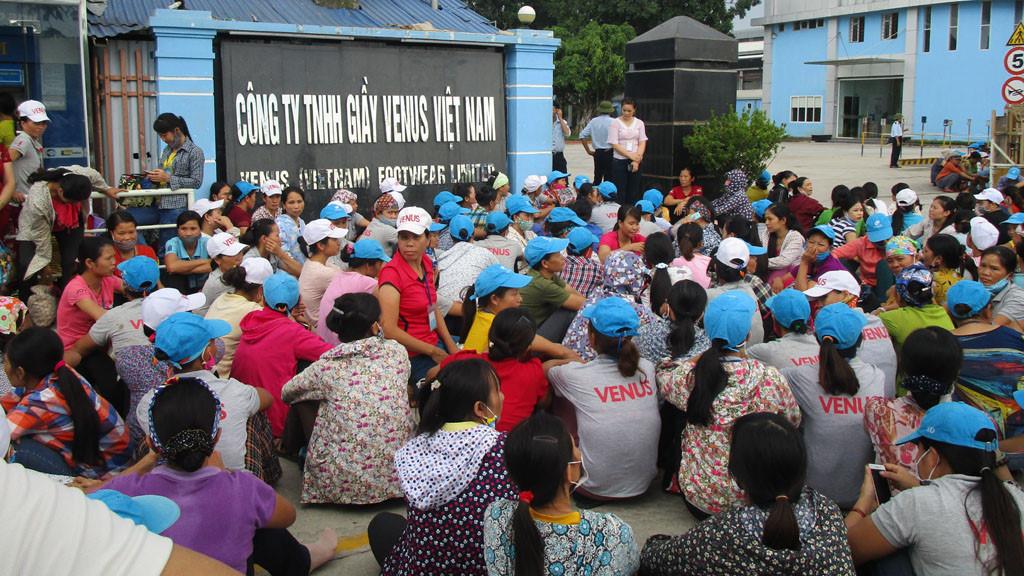 Công nhân tại Thanh Hóa liên tục biểu tình đòi quyền lợi