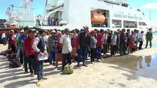 239 ngư dân Việt Nam được Indonesia trao trả về tới Vũng Tàu