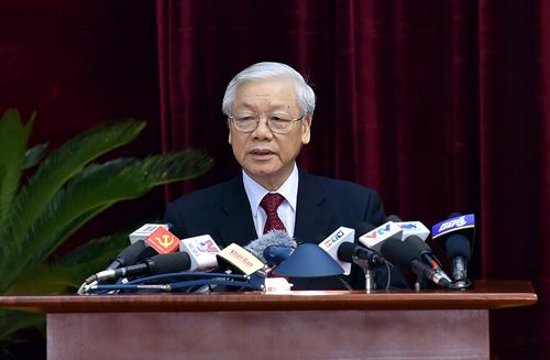 Tổng bí thư Trọng dọa nghiêm xử 'bất cứ ai vi phạm kỷ luật'