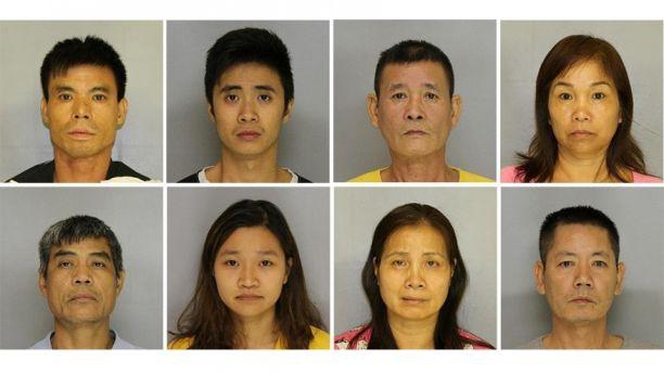FBI bắt 9 người Việt, truy nã 3 người, thu giữ 7 triệu Mỹ kim cần sa ở Georgia