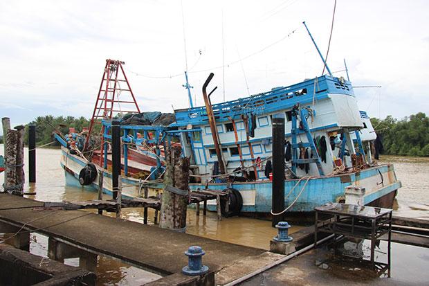 Thái Lan bắt giữ 21 ngư dân và 2 tàu cá Việt