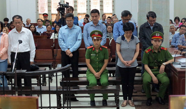 Án chung thân cho bà Châu Thị Thu Nga mua ghế vào quốc hội