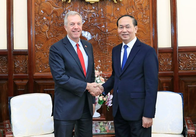 Đại sứ Osius ở lại Việt Nam làm phó chủ tịch đại học Fulbright