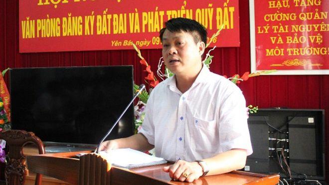 Giám đốc sở tài nguyên Yên Bái bị cách chức về làm phó văn phòng tỉnh