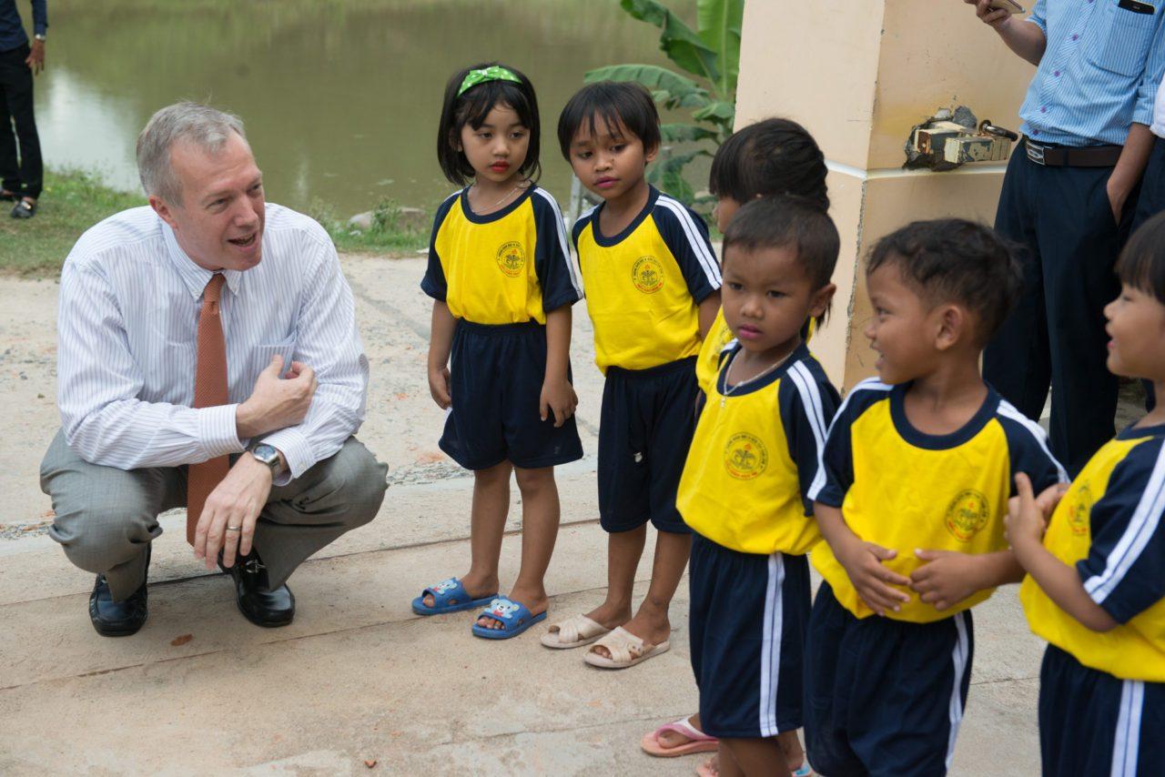 Đại sứ Mỹ Ted Osius sẽ ở lại Việt Nam sau khi nhiệm kỳ chấm dứt