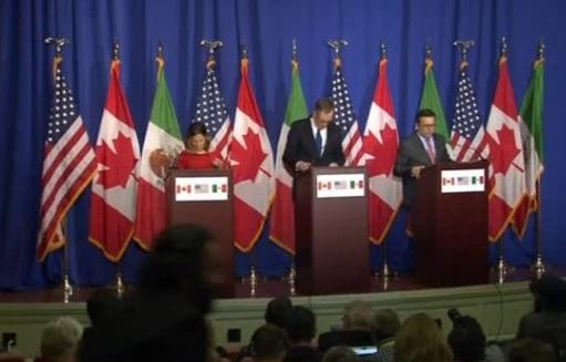 Các cuộc đàm phán NAFTA vẫn bế tắc, sẽ kéo dài sang đầu năm 2018