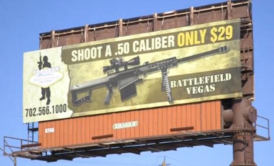 Ngành du lịch súng ở Las Vegas vẫn hoạt động sau vụ thảm sát