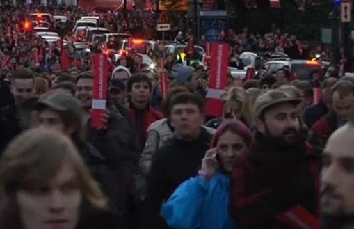 Biểu tình tại nhiều thành phố Nga đòi Putin từ chức