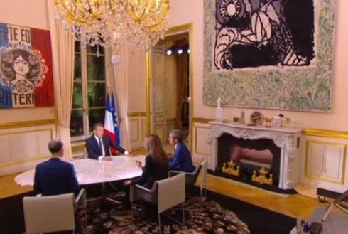 Macron chỉ trích chiến lược của Trump đối với Iran