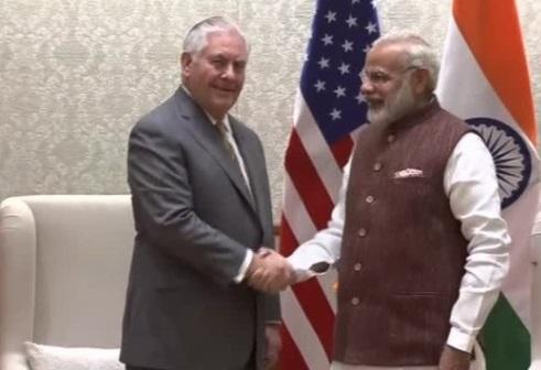 Ấn Độ thảo luận với ngoại trưởng Hoa Kỳ về mối quan hệ với Bắc Hàn