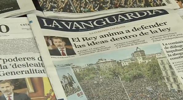 Quốc Vương Tây Ban Nha lên án cuộc trưng cầu dân ý đòi độc lập của Catalan