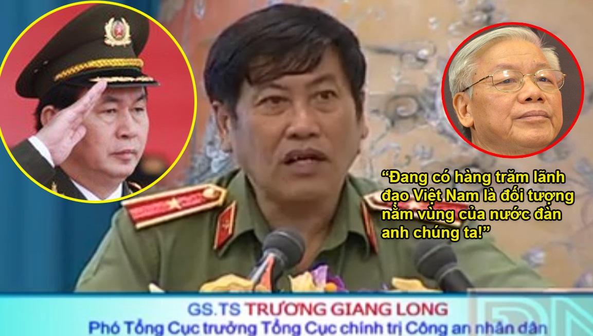 Tướng công an CSVN bị Trung Cộng cách chức? (Trung Điền)