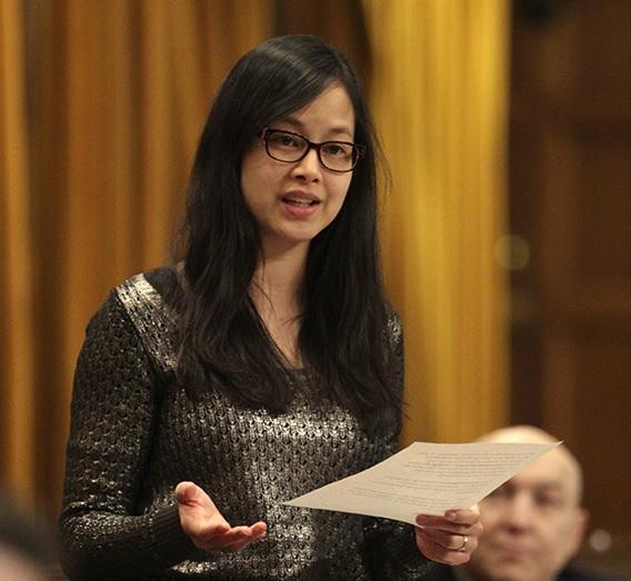 Nữ dân biểu Canada gốc Việt ủng hộ đạo luật Magnitsky