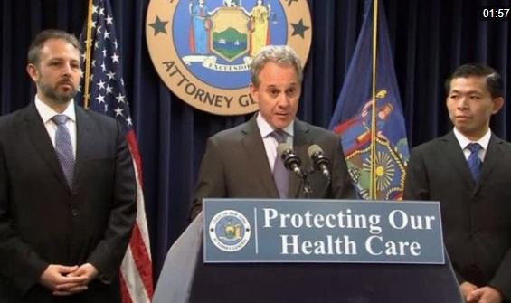 Bộ trưởng bộ tư pháp New York đệ đơn kiện tổng thống Trump vì chấm dứt trợ cấp Obamacare
