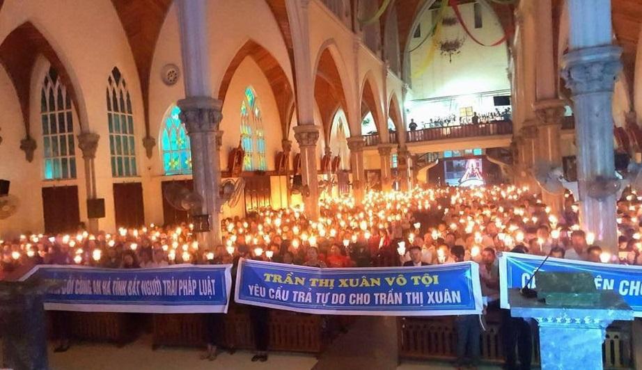 Bắt giữ giáo dân Trần Thị Xuân, an ninh CSVN đang tự hủy diệt chế độ (Tâm Ngọc)