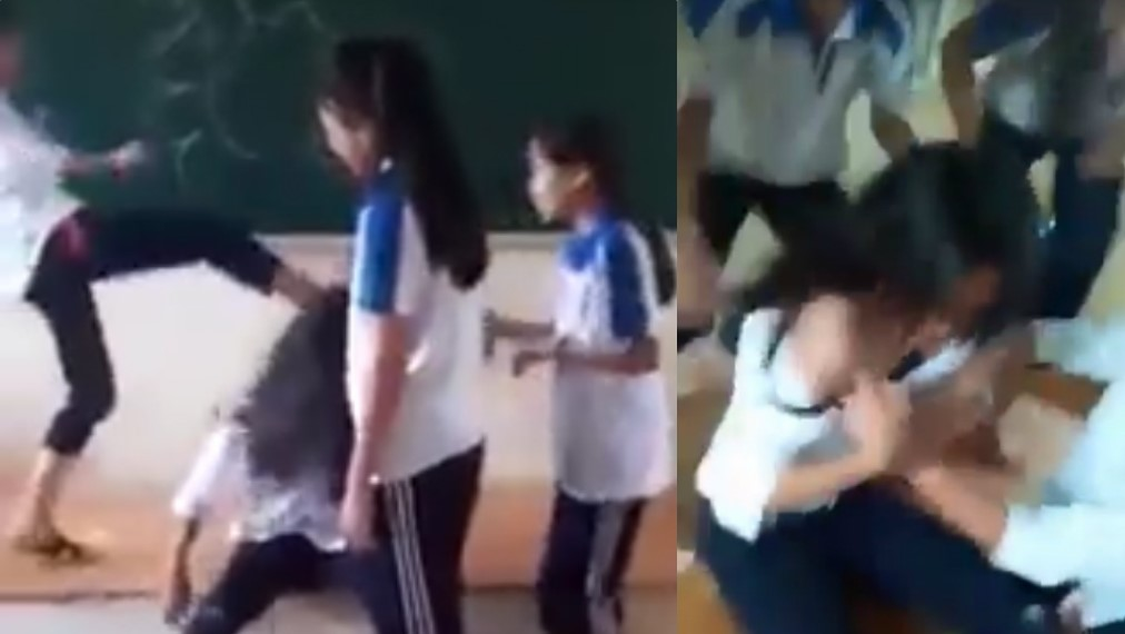 Bạo lực học đường tiếp tục gia tăng tại Việt Nam