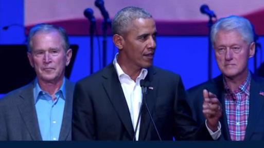 5 cựu tổng thống Hoa Kỳ quyên được 31 triệu Mỹ kim cho quĩ cứu trợ bão