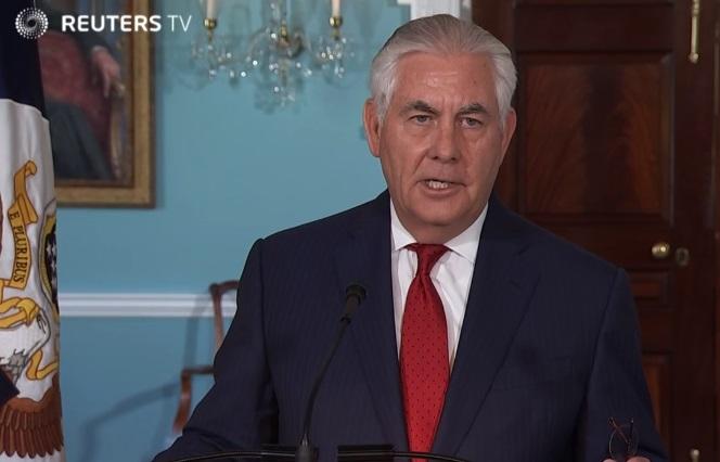 Ngoại trưởng Rex Tillerson căng thẳng với cả tổng thống Trump lẫn đại sứ Nikki Haley