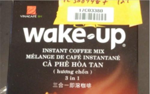 Cà phê hòa tan Wake Up của Vinacafe bị thu hồi ở Mỹ
