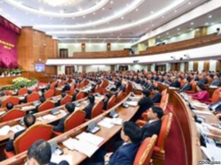 Hội nghị trung ương 6 của đảng CSVN bàn vế vấn đề chia chác quyền lực