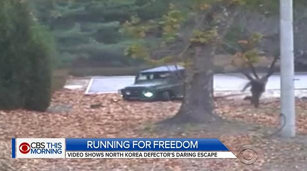 Liên Hiệp Quốc phát hành đoạn video khi binh sĩ Bắc Hàn đào thoát về phía Nam Hàn