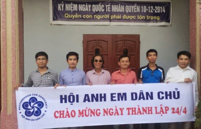 Giải Nhân Quyền Việt Nam 2017 cho blogger Anh Ba Sàm, Mẹ Nấm, Mục Sư Y Yích Và Hội Anh Em Dân Chủ