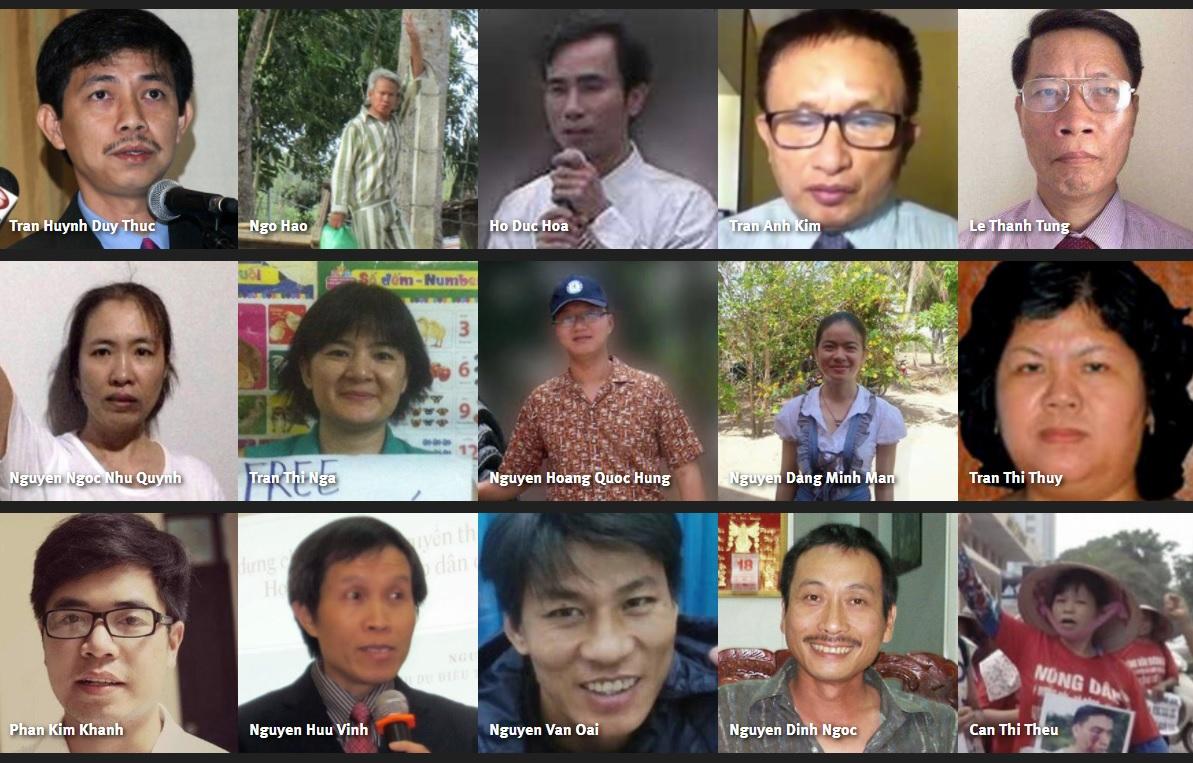 Human Rights Watch: lãnh đạo các nước 'phải biết xấu hổ' nếu bỏ mặc tù nhân lương tâm Việt Nam