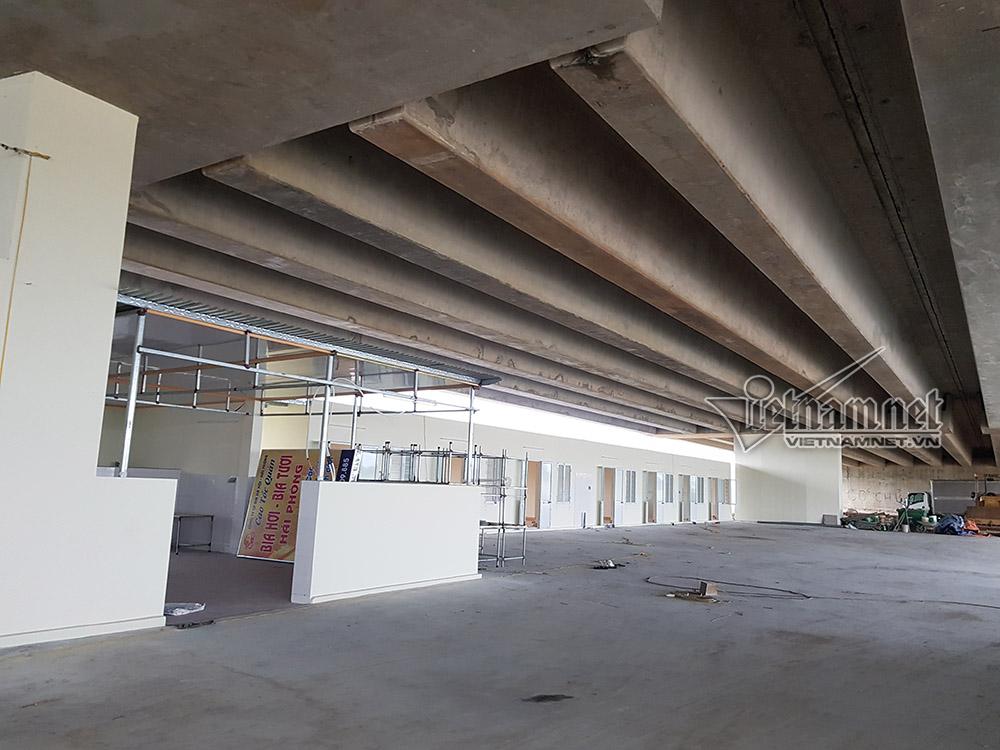 Gầm cầu xa lộ ở Hải Phòng thành nơi mở nhà hàng, thương xá